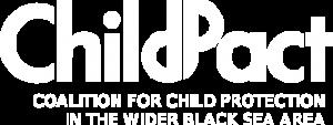 ChildPact logo - white